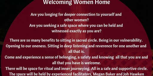 Welcoming Women Home