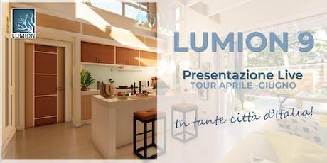 Presentazione Lumion Ancona biglietti