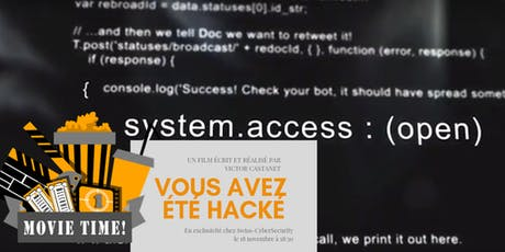 Swiss CybserSecurity: MOVIE: Vous avez eté hacké tickets