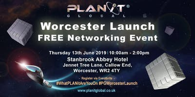 PLANit Global Worcester Launch FREE Networking Event