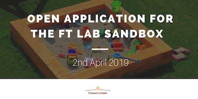 Finanstilsynet - Open Applications to FT Lab
