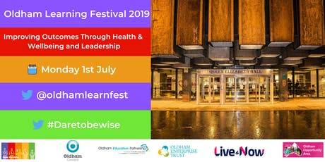 OLF19 Day 1: Improving Outcomes Through Health & Wellbeing and Leadership tickets