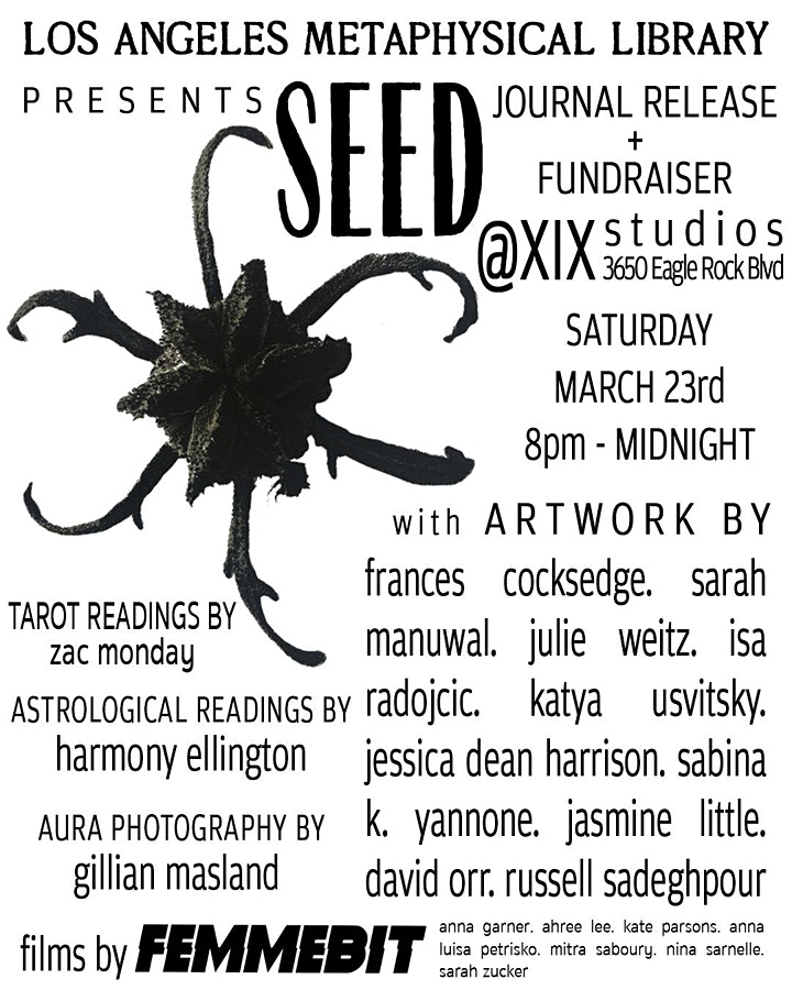 LAML presents: Journal Release Party & Fundraiser!! image