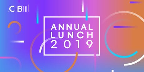 CBI Northern Ireland Annual Lunch 2019 tickets