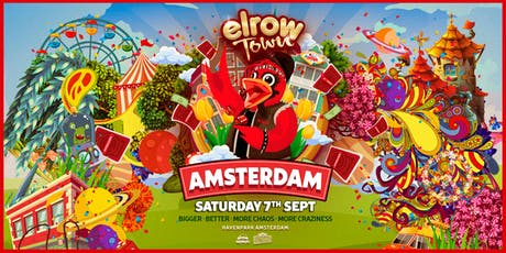 elrow Town Amsterdam tickets