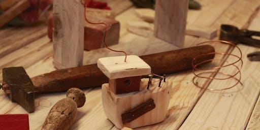 Al Mercato Ritrovato laboratorio di piccola falegnameria con Ramorame18!