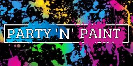 Party N Paint @TheExhibit- Bank Holiday Special tickets