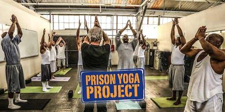 Stage -  Prison Yoga Project billets