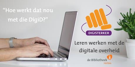 Werken met de digitale overheid - beginnerscursus september 2019 tickets