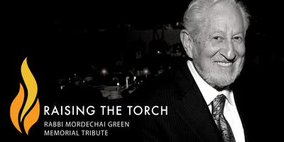 Raising The Torch:   Gala Memorial Tribute fro Rabbi Mordechai Green z\