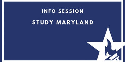 Info session with Study Maryland