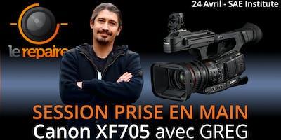 Workshop | Prise en main de la caméra Canon XF705