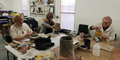 Ceramics sessions Wednesday afternoons 24th April - 5th June 2019