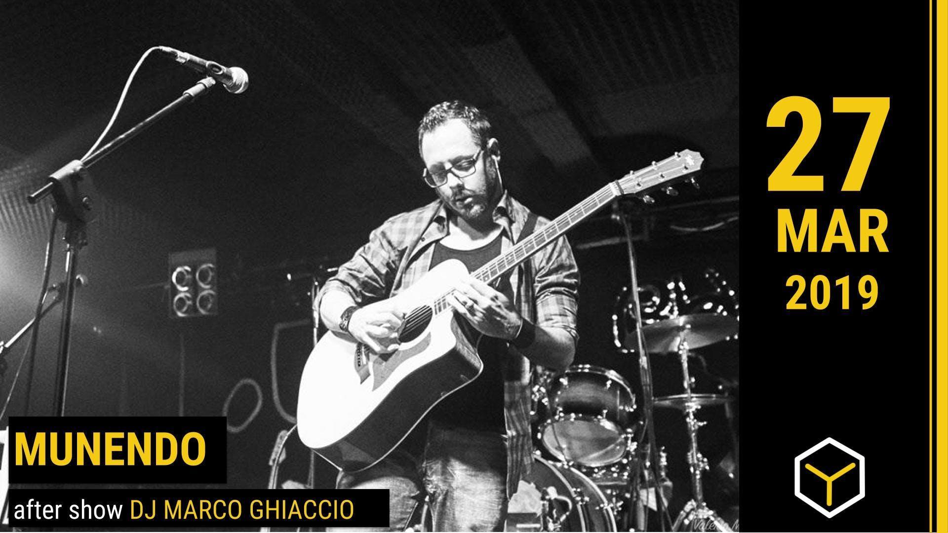 Munendo + Micol - The Yellow Bar