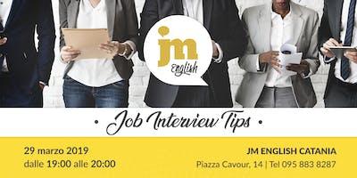 Job Interview Tips Catania