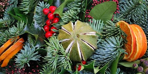 CHRISTMAS WREATH WORKSHOP with Katie Priestley