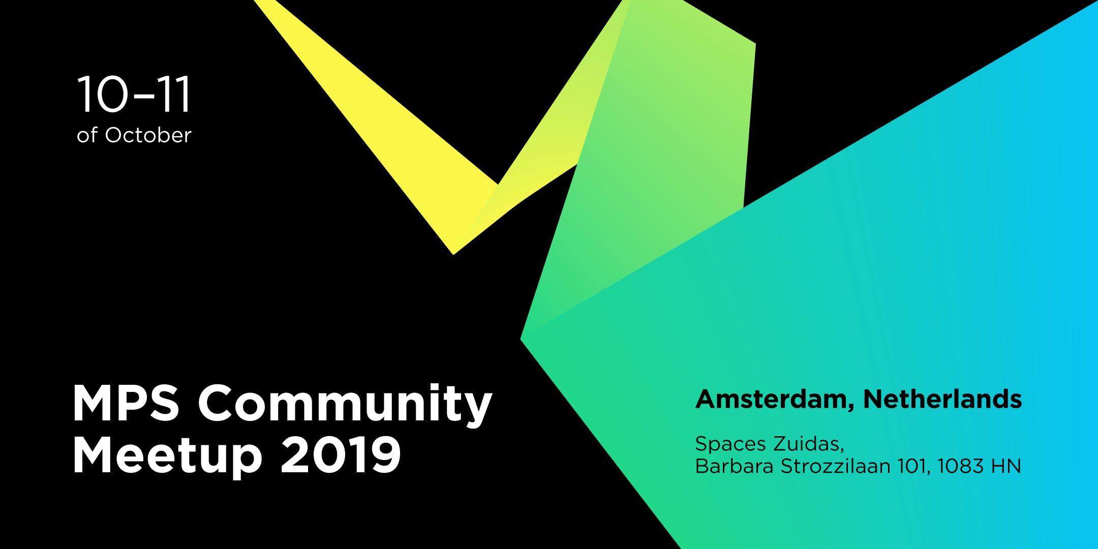 JetBrains MPS Community Meetup 2019