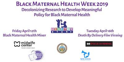 Healthy Start Black Maternal Health Week Celebration