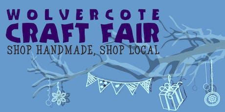 Wolvercote Craft Fair 2019 Stall Booking tickets