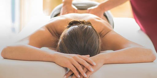SUNDAY 25th AUGUST - MASSAGE