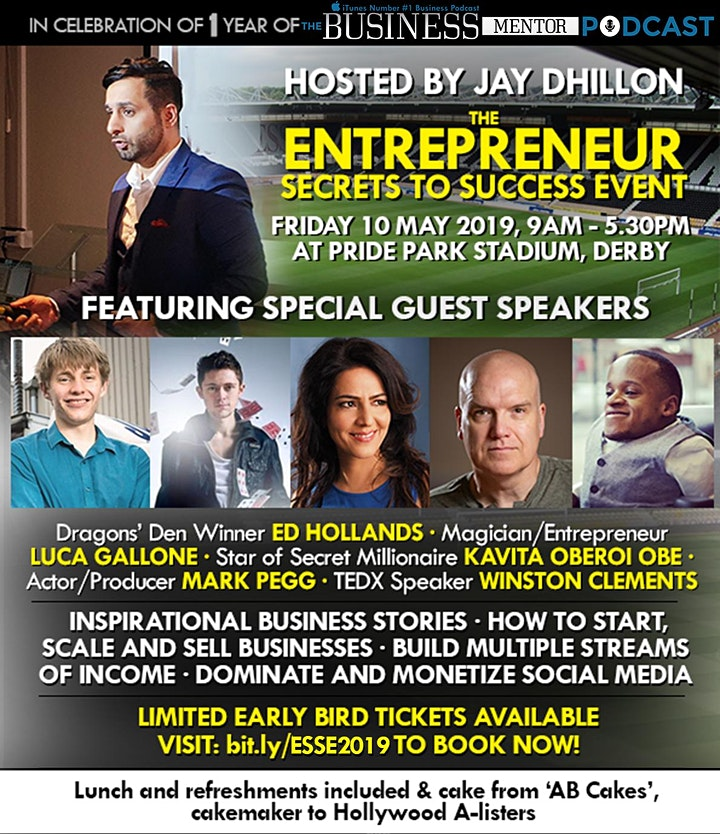 The Entrepreneur Secrets to Success Event image