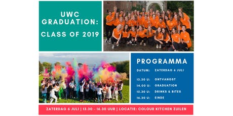 UWC Graduation: Class of 2019 tickets