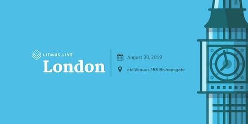 Litmus Live 2019: London