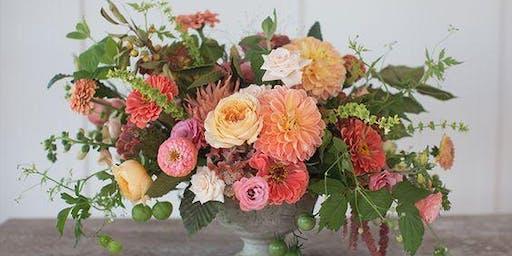 Flower Arrangement DIY & Morning Mimosas