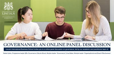 Governance: An Online Panel Discussion