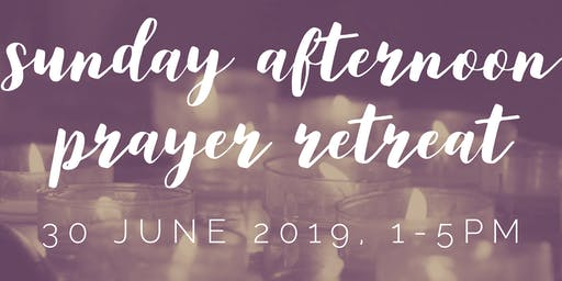 Pre-Conference Institute: Sunday Afternoon Prayer Retreat