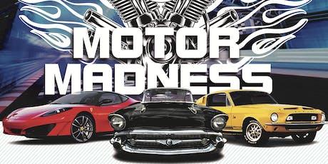 Motor Madness Car Show Registration tickets