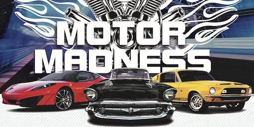 Motor Madness Car Show Registration