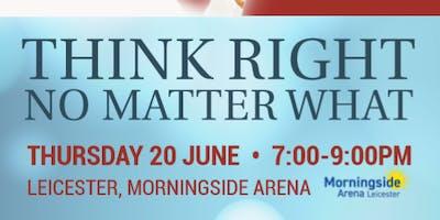 BK Shivani European Tour  - Think Right No Matter What