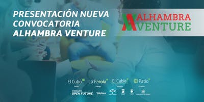 Presentación nueva convocatoria Alhambra Venture,