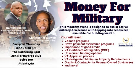 Money for Military - A University of Wealth Building Event tickets
