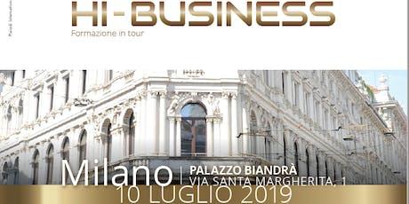 Hi-Business Milano biglietti