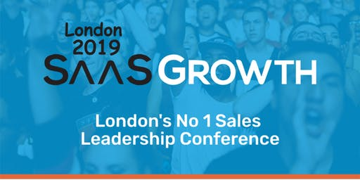 SaaSGrowth 2019 - Sales Confidence - B2B SaaS Sales Conference