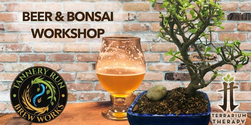 Beer and Bonsai at Tannery Run Brew Works