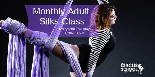 Adult Silks Class: Monthly