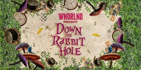 WNDRLND presents Down The Rabbit Hole tickets