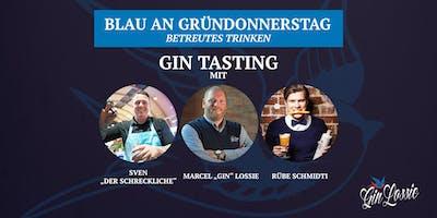 Gin Lossie Tasting - Blau an Gründonnerstag