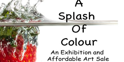 A Splash of Colour an exhibition of art and photography