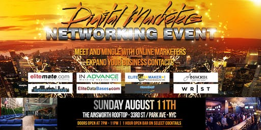 Digital Marketers Networking Event