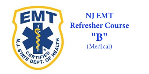 "NJ EMT Refresher ""B"""