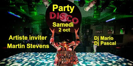 Party DISCO 70-80 avec DJ MARIO (Huitieme éditions)  billets