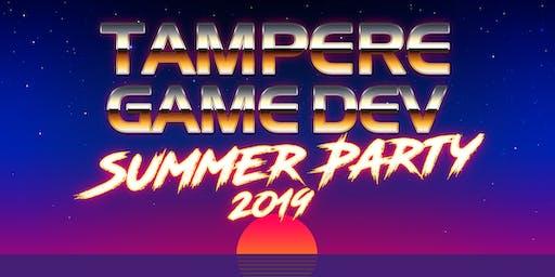 Tampere Game Dev Summer Party 2019