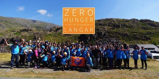 The Journey to FOOD & FREEDOM! Zero Hunger with Langar Snowdon Climb 2019