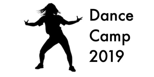 Dance Camp Session 2 (Grades 3-5) 10:15 - 11:45am - Extension of Artist in Residency (4 day event)
