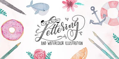 Handlettering & Watercolor Illustration