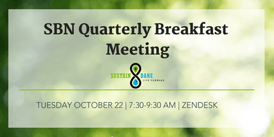 October Sustainable Business Network Meeting